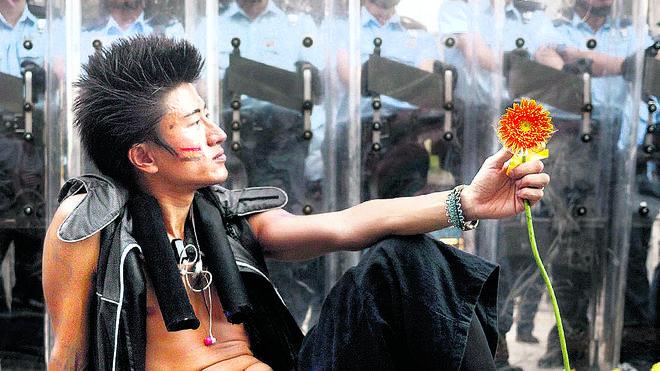 Paz y amor en Hong Kong