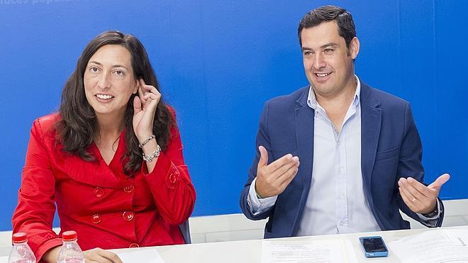 La número dos del PP andaluz abandonará su escaño de diputada en el Parlamento