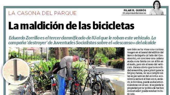 La maldición de las bicicletas