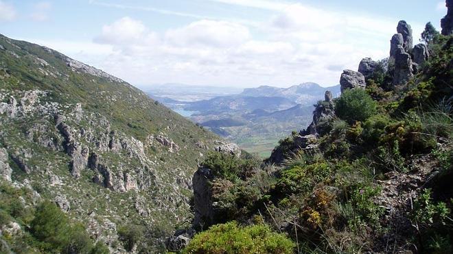 Subida al pico del Grajo