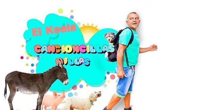 El Koala más niño homenajea al público infantil con su disco 'Cancioncillas nillas'