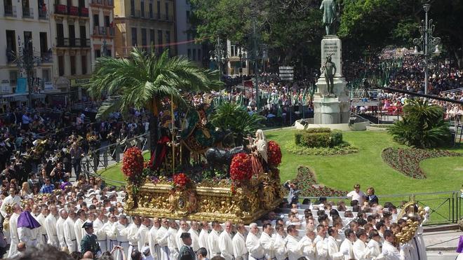 Itinerarios de las procesiones del Domingo de Ramos 2017