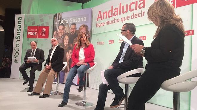 """Susana Díaz aboga por reforzar la marca Andalucía frente a los """"tópicos"""" y """"elementos tóxicos"""""""