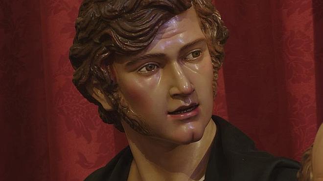 Un autorretrato del escultor en la Sagrada Cena