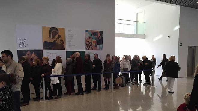 El Museo Ruso recibe más de 3.000 visitantes en sus jornadas de puertas abiertas