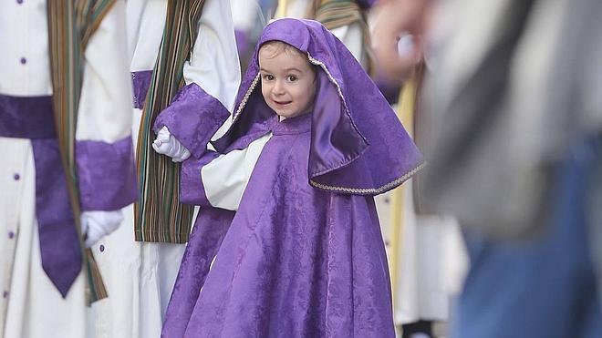 La Pollinica abre la Semana Santa de Málaga