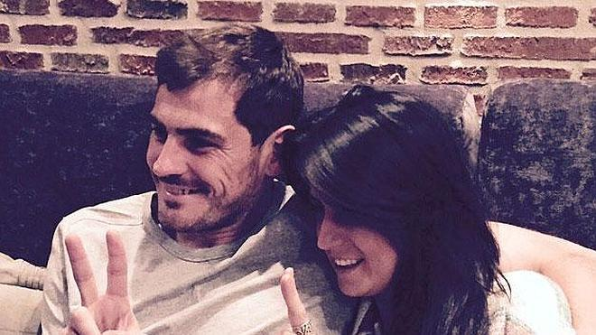 Laura Pausini se enfada con Iker Casillas