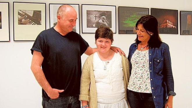 Los Boliches se vuelca con Patricia, una niña afectada por una enfermedad rara