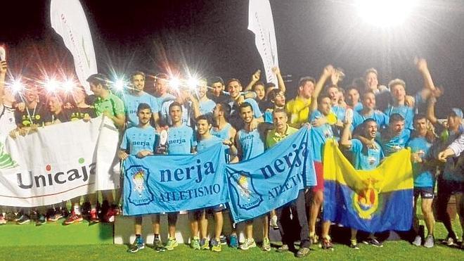 El Cueva de Nerja-UMA masculino, campeón andaluz de clubes de atletismo