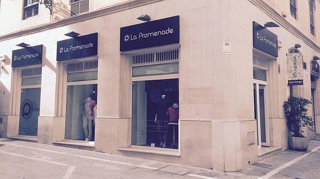 La firma de ropa malagueña de caballero, La Promenade, sigue con la expansión de su red de tiendas