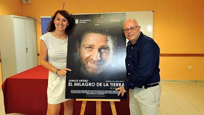 Juanjo Artero estrenará su próxima obra de teatro este verano en Nerja