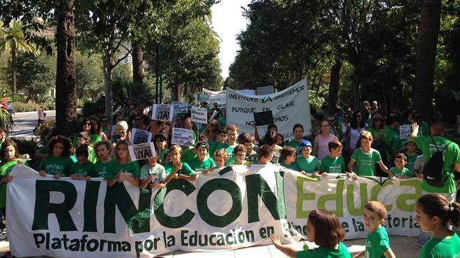 La Junta retrasa en Rincón de la Victoria al menos tres años la finalización del cuarto instituto