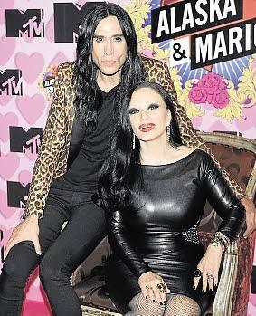Alaska y Mario se escapan a Marbella con la MTV