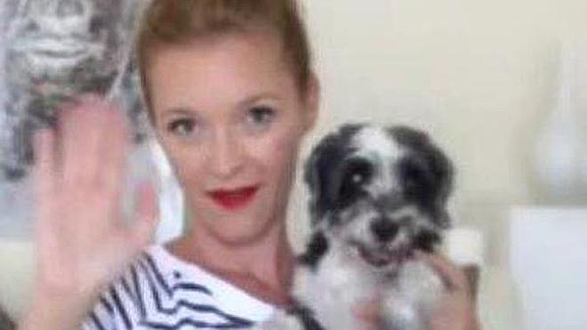 La actriz María Esteve pide ayuda en las redes para encontrar a Cata, su perra perdida en La Cala