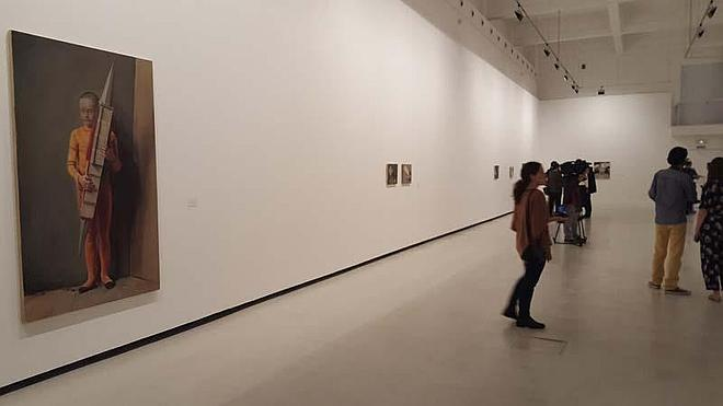 El CAC Málaga vuelve a reivindicar la modernidad de la pintura con Michaël Borremans