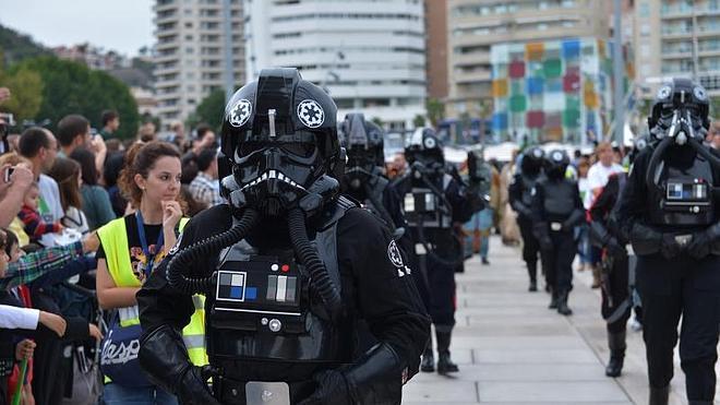 Desfile de Star Wars en Málaga: Misión Luis Olivares, cumplida