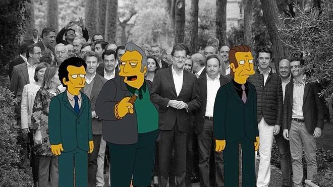 'Visita' exprés de Los Simpson a Málaga para denunciar la sociedad de consumo actual
