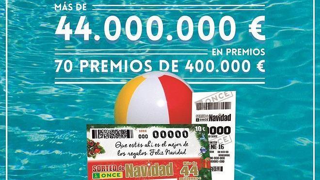 La ONCE recibe el año con más de 44 millones en premios