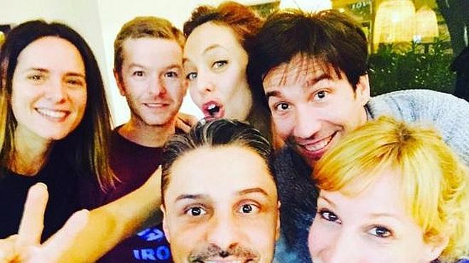 Los actores de Compañeros se reúnen 15 años después del fin de la serie