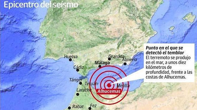 El terremoto de mayor intensidad en casi una década se deja sentir con fuerza en Málaga