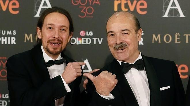 Pablo Iglesias anima a Dani Rovira tras las críticas por la gala de los Goya