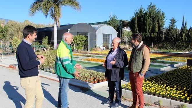La ampliación del vivero permitirá instalar 120.000 plantas en Estepona