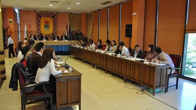 El pleno valida la integración definitiva de los Bomberos de Estepona en el Consorcio Provincial