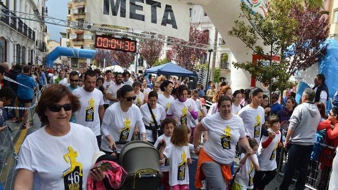 La Vuelta Pedestre de Coín reunirá el domingo a 3.000 personas