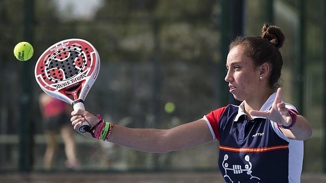 Beatriz González: «Quiero jugar contra las mejores del mundo para ver cómo estoy de nivel»
