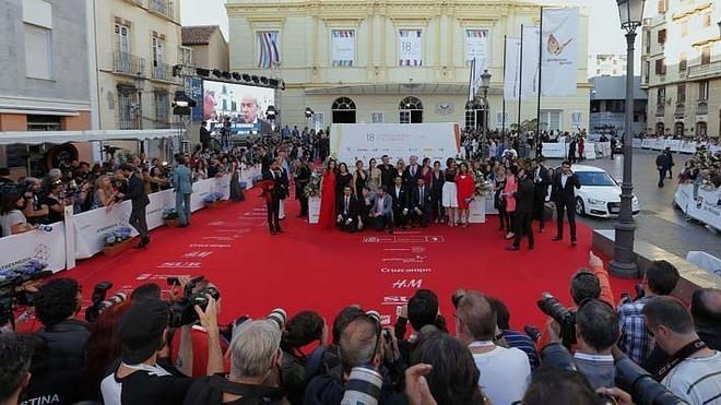 Los famosos que pasarán esta noche por la alfombra roja del Festival de Málaga