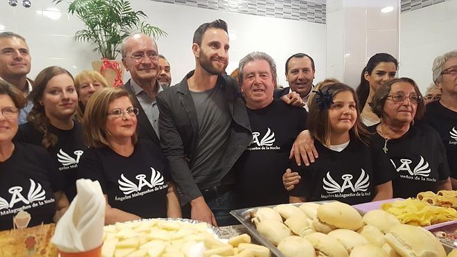 Los Ángeles Malagueños de la Noche abren su nuevo comedor