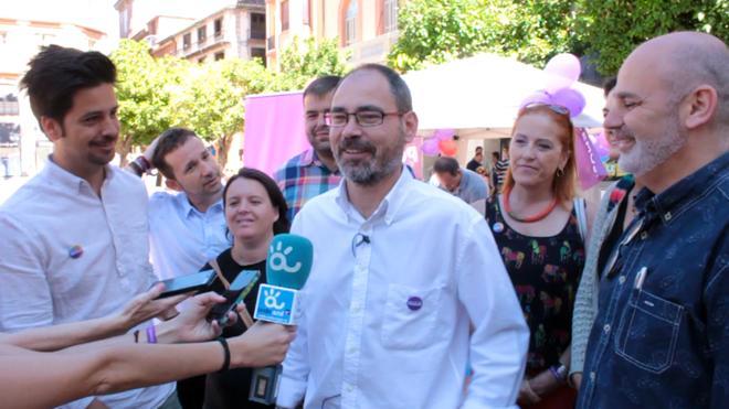 """Alberto Montero pide al PSOE """"la misma lealtad en el Gobierno central que Podemos en los ayuntamientos"""""""