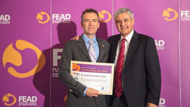 El Jefe de Digestivo del Hospital Xanit, premio de la Sociedad Española de Patología Digestiva