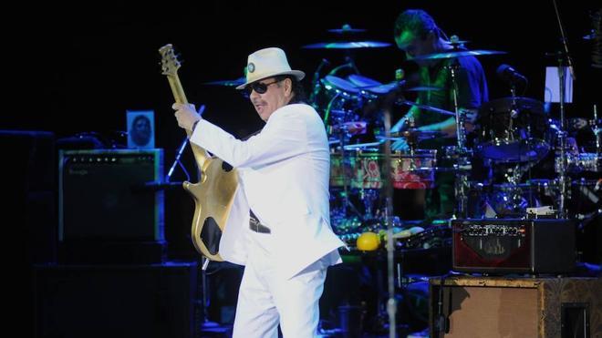 Carlos Santana destapa su furia arrolladora en Marbella
