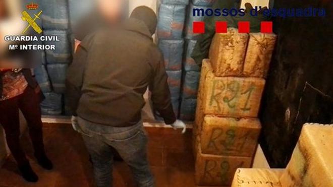 Desarticulan una banda de 12 miembros dedicada al narcotráfico que operó desde Málaga y Nerja