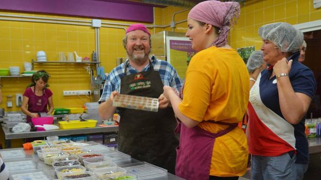 Jason y la fábrica de chocolate (en Mijas)