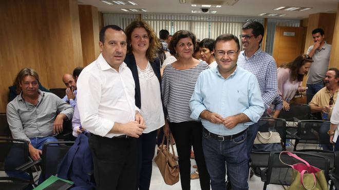 La Comisión Ejecutiva Provincial del PSOE de Málaga muestra su apoyo a la Comisión Gestora federal