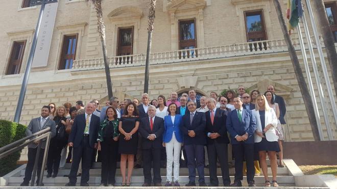 La consejera de Cultura insiste en que el Museo de Málaga abrirá antes de fin de año pero no concreta fecha