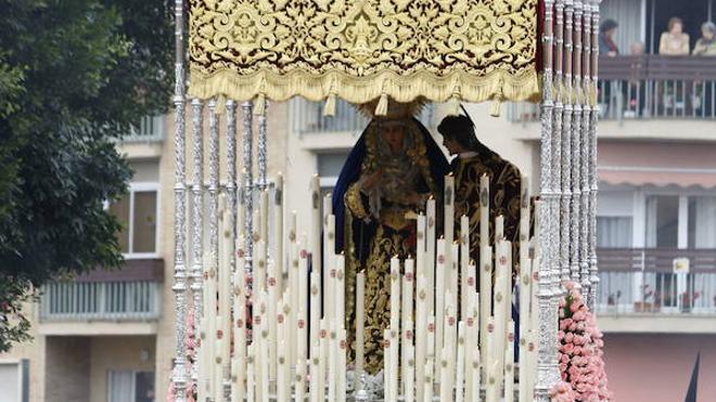 La Virgen del Monte Calvario recorre hoy en procesión el barrio de la Victoria