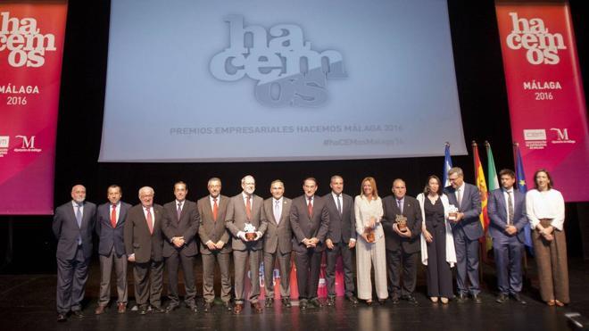 Diputación y la CEM premian a los mejores empresarios malagueños del año