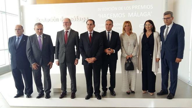 Diputación y CEM premian a los mejores empresarios malagueños