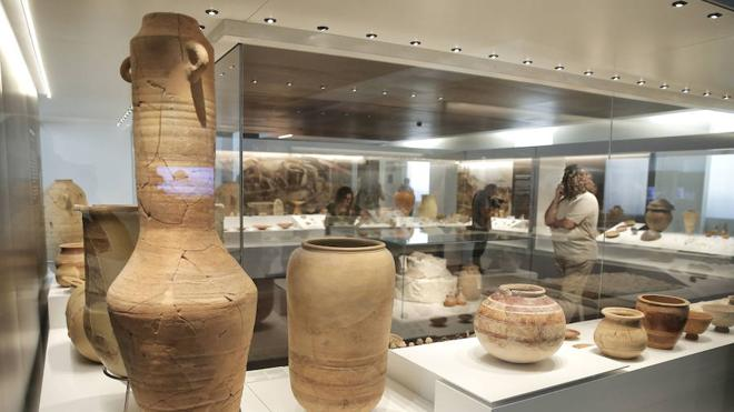 El centro exhibirá el 15,8% de sus fondos de Arqueología y Bellas Artes