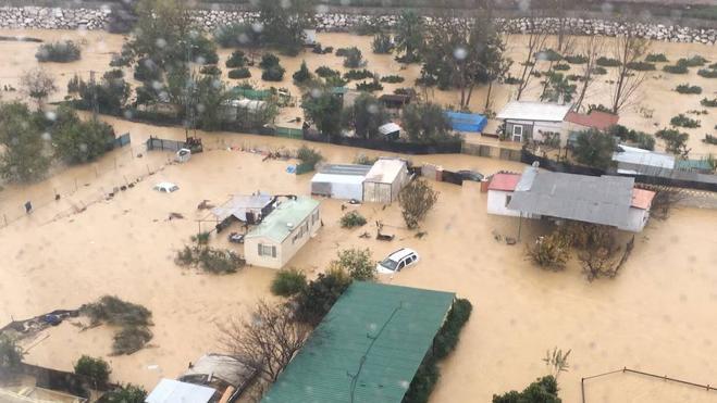 """El Gobierno declara a Málaga zona afectada """"gravemente"""" por las lluvias"""