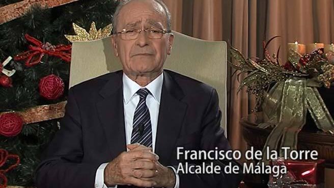 El alcalde de Málaga da las gracias a todos
