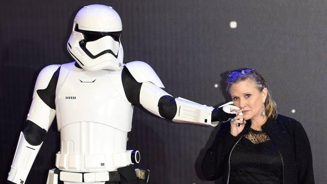 Disney cobrará 50 millones por la muerte de la actriz Carrie Fisher