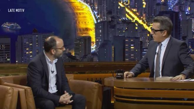 Vídeo: Así dejó Andreu Buenafuente en ridículo a un invitado a su programa Late Motiv