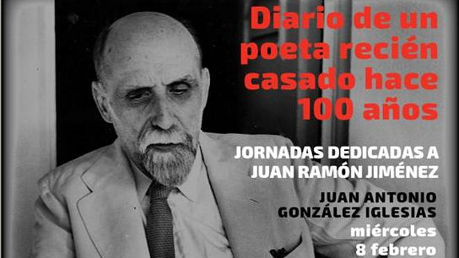 González-Iglesias protagoniza la tercera cita del homenaje a Juan Ramón Jiménez que organiza la Diputación