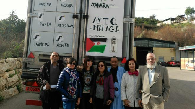 Málaga envía 23.500 kilos de alimentos a los campamentos saharahuis