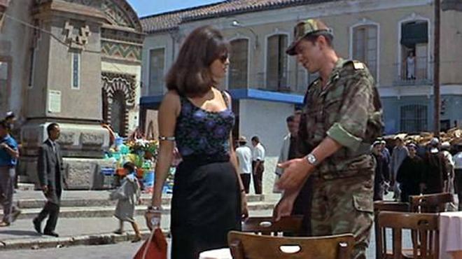 Cuando Alain Delon se enamoró de Claudia Cardinale en el Mercado de Salamanca