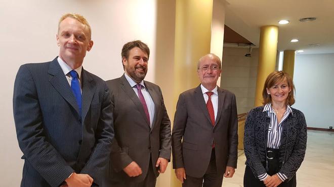 El Banco Europeo de Inversiones se abre a financiar el soterramiento del tren del Puerto